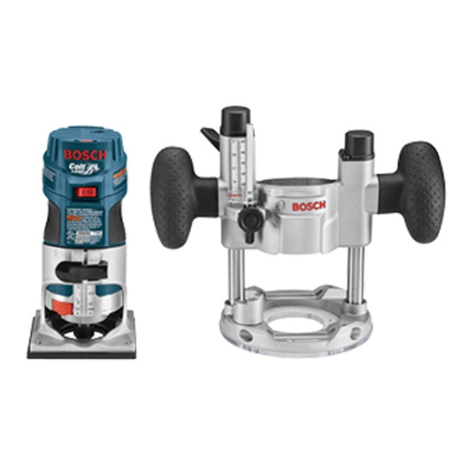 Bosch PR20EVSPK 1 HP Colt VS Palm Router Combo Kit