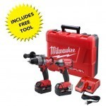Milwaukee 2797-22 M18 Combo Kit Free Tool