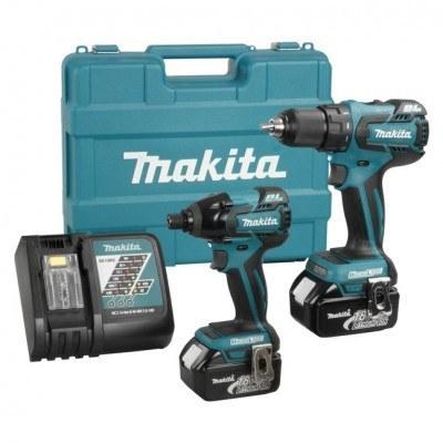 Makita LXT241 18V 2 Piece Cordless Combo Kit