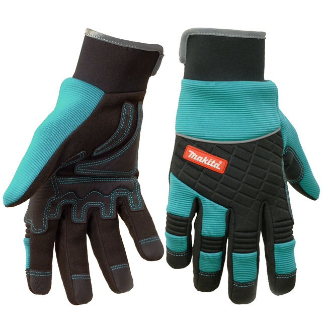 Makita Mk403 Construction Series Work Gloves Bc Fasteners