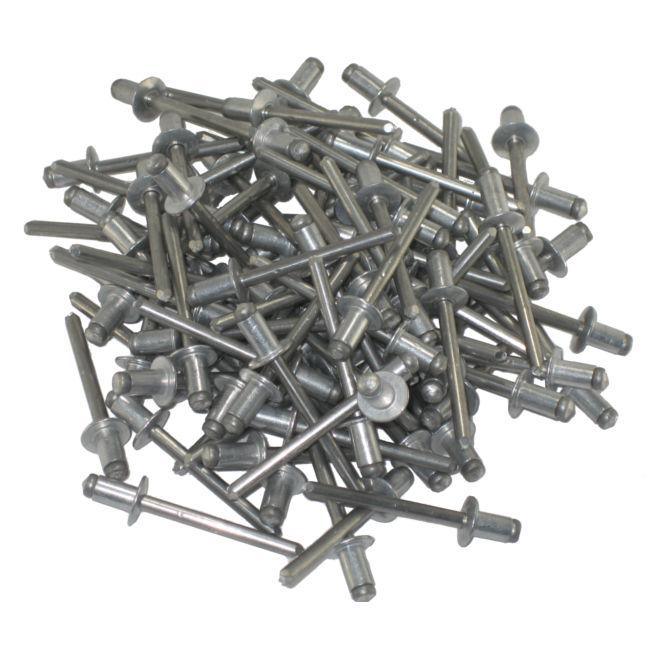 Open End Rivet Dome Head Aluminum Body to Aluminum Mandrel