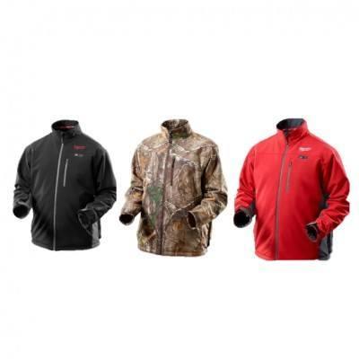 Milwaukee M12 Multi-Zone Heated Jacket – Red, Black, Camo