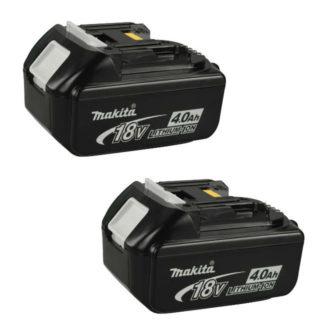 Makita BL1840 2 Pack 18V 4.0Ah Li-Ion Battery 196041-9