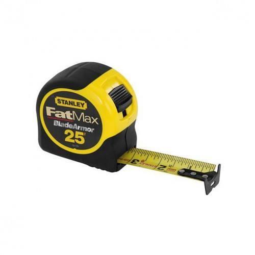 stanley 33 725 fatmax 25 39 tape measure bc fasteners tools. Black Bedroom Furniture Sets. Home Design Ideas