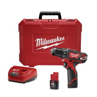 "Milwaukee 2407-22 M12 3/8"" Drill/Driver Kit"