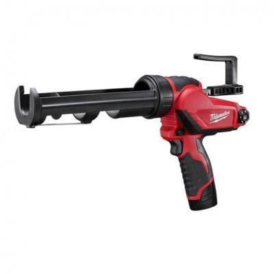 Milwaukee 2441-21 M12 10oz. Caulk and Adhesive Gun Kit