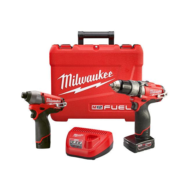 Milwaukee 2597-22 2-Tool M12 Fuel Combo Kit