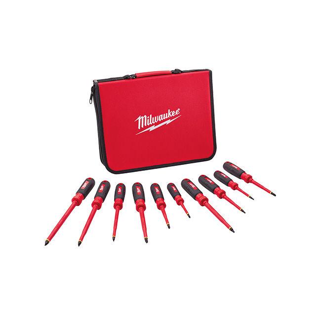 Milwaukee 48-22-2210 10PC 1000V Insulated Screwdriver Set