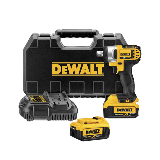 "DeWalt DCF880M2 1/4"" aImpact Wrench Kit"