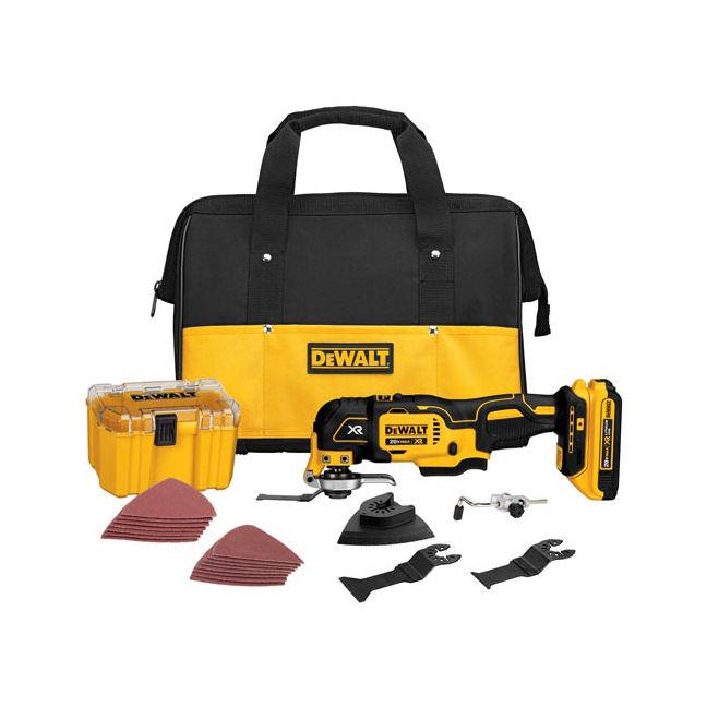 dewalt multi tool. dewalt dcs355d1 20v oscillating multi-tool kit dewalt multi tool h