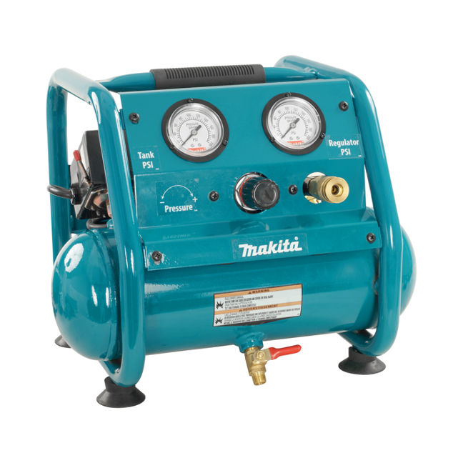 Makita ac001 air compressor bc fasteners tools for Can i use motor oil in my air compressor