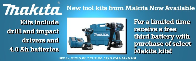 New Makita 2 Piece Combo Kits