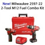 Milwaukee 2597-22 2-Tool M12 Fuel Combo Kit