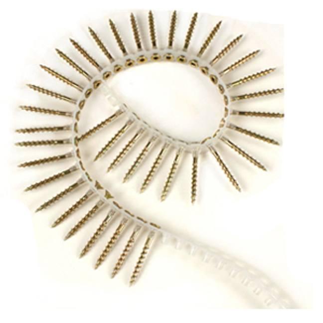 Makita #8 Zinc Collated Screws