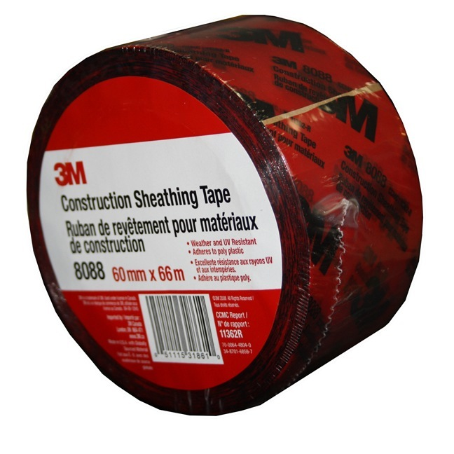 3M 8088 Construction Sheathing Tape
