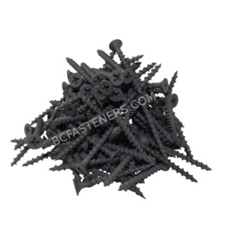 #6 Drywall Screws Coarse Thread Flat Head Phosphate Coated