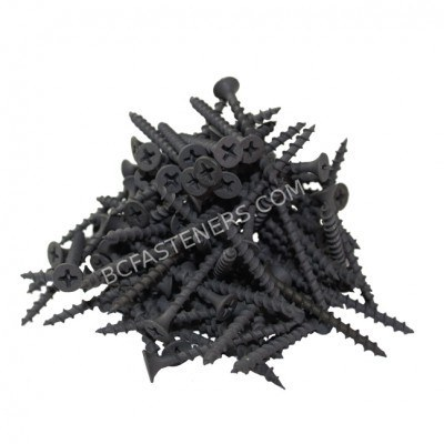#6 Drywall Screws Fine Thread Flat Head Phosphate Coated