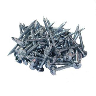 #8 Steel Framing Screws Wafer Head Phillips S-Point Zinc