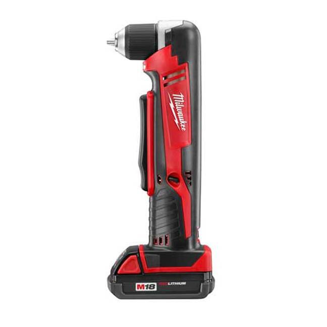 Milwaukee 2615-21CT M18 Cordless Right Angle Drill Kit
