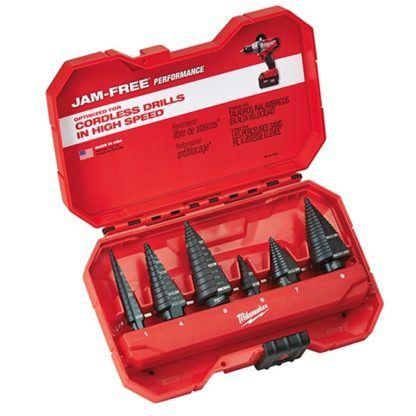 Milwaukee 48-89-9224 6-Piece Step Drill Bit Set