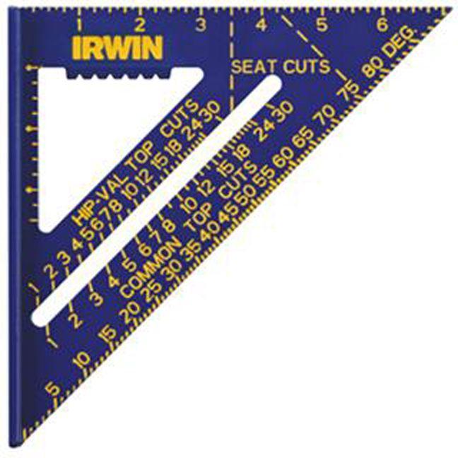 Irwin 1794463 Hi-Contrast Aluminum Rafter Square