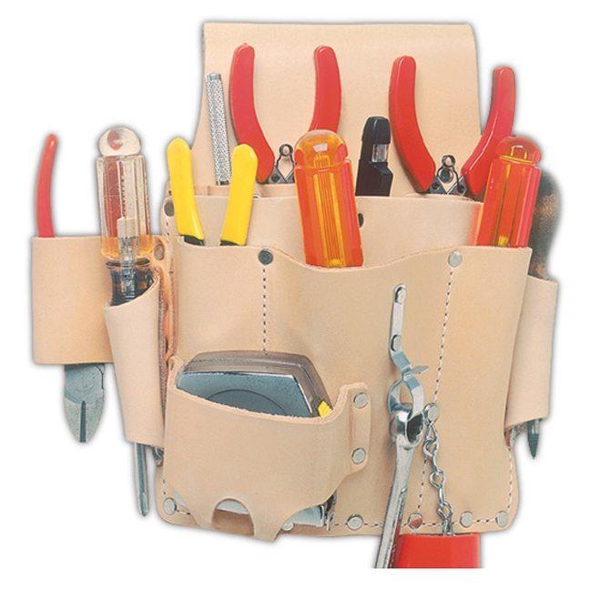 Kuny's EL-809 8 Pocket Electrician's Tool Pouch