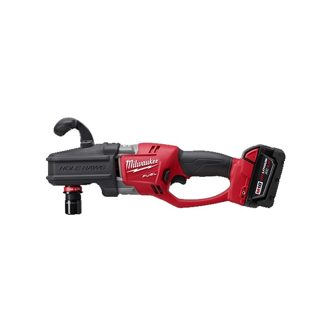 """Milwaukee 2708-22 M18 HOLE HAWG 1/2"""" Right Angle Drill Kit"""