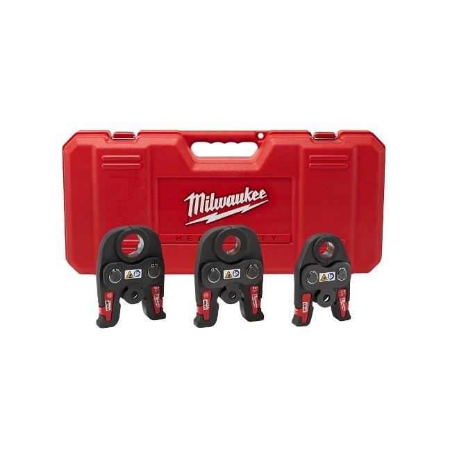 """Milwaukee 49-16-2696 Black Iron Press 1/2"""" - 1"""" Kit"""