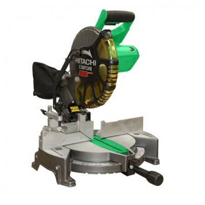 "Hitachi C10FCH2 10"" Compound Mitre Saw with Laser"