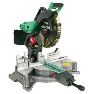 "Hitachi C12FDH 12"" Dual Compound Miter Saw with Laser Marker"