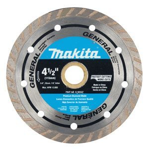 "Makita A-95071 4-1/2"" Optimum Series Diamond Blade"