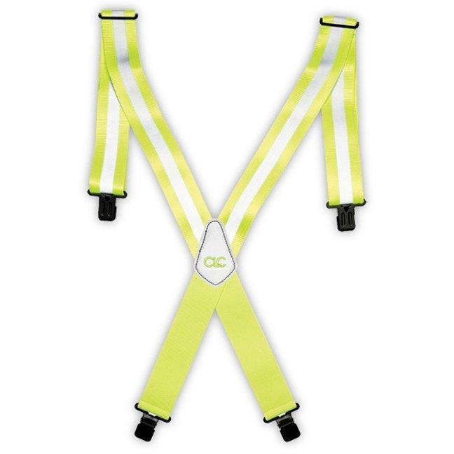 Kuny's 14110 Heavy Duty Hi-Viz Work Suspenders