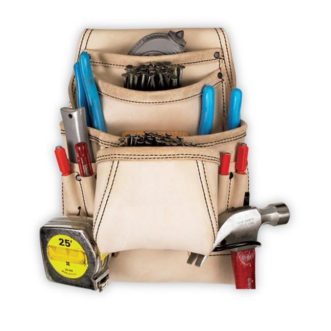 Kuny's 179354 10-Pocket Carpenter's Nail & Tool Bag