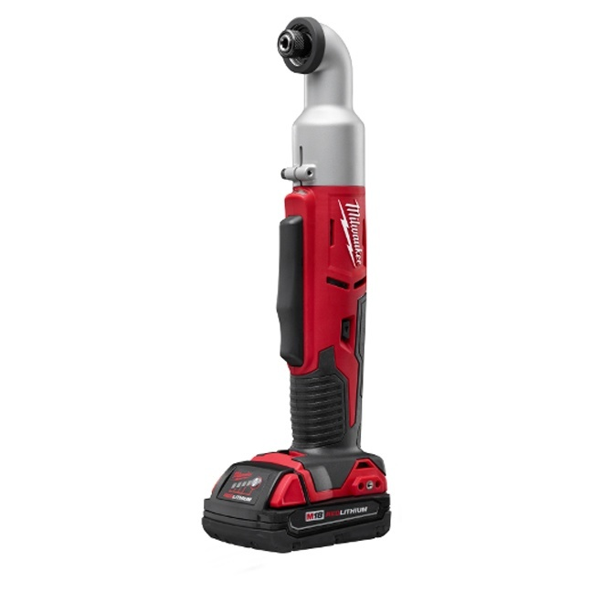 "Milwaukee 2667-21CT M18 2-Speed 1/4"" Right Angle Impact Wrench"