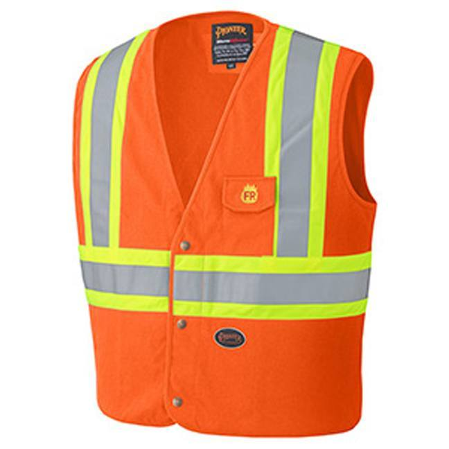 Pioneer 128 Flame Resistant Cotton Safety Vest