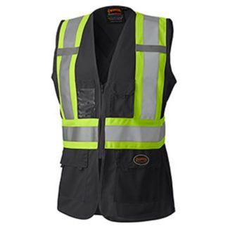 Pioneer 139BK Hi-Viz Women's Safety Vest