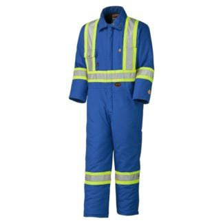 Pioneer 5522A Flame Resistant Quilted Cotton Safety Coverall