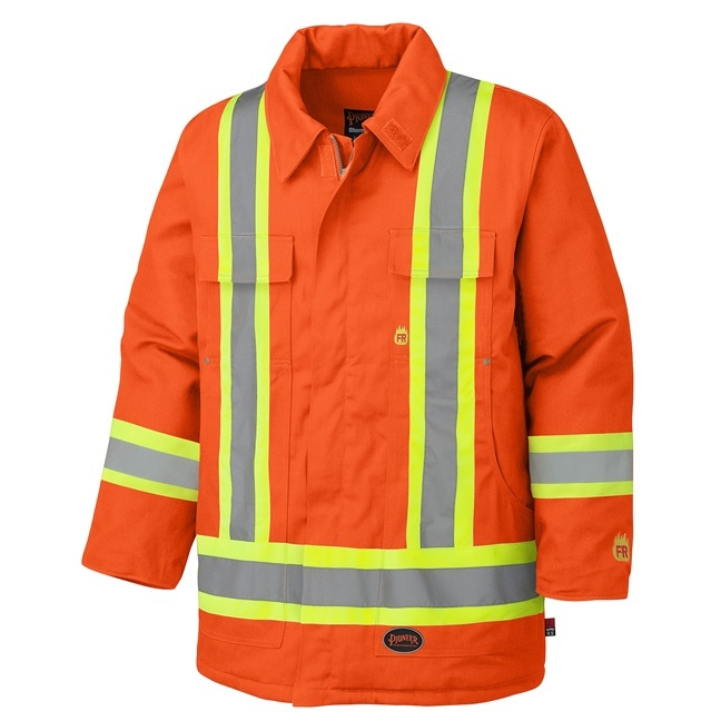 Pioneer 5553 Flame Resistant Cotton Safety Jacket