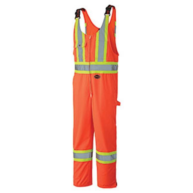 Pioneer 6618 Hi-Viz Safety Poly Cotton Overall