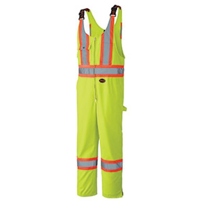 Pioneer 6619 Hi-Viz Safety Poly Cotton Overall