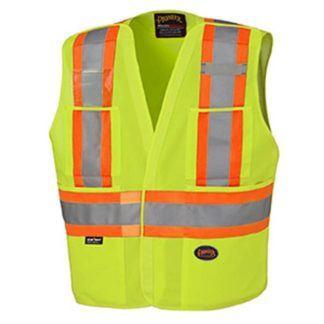 Pioneer 6931 Hi-Viz Tear-Away Vest