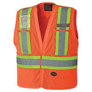 Pioneer 6932 Hi-Viz Safety Tear-Away Vest