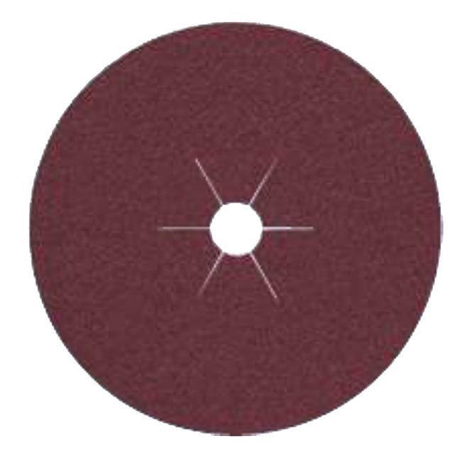 "Klingspor 11058 7""x7/8"" CS561 24G Abrasive Fibre Discs - 25 pack"