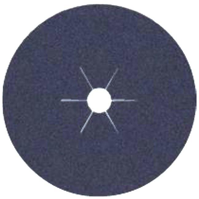 "Klingspor 65701 4-1/2""x7/8"" CS565 80G Abrasive Fibre Discs - 25 pack"