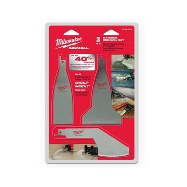 Milwaukee 49-22-5403 Material Removal Blade Set