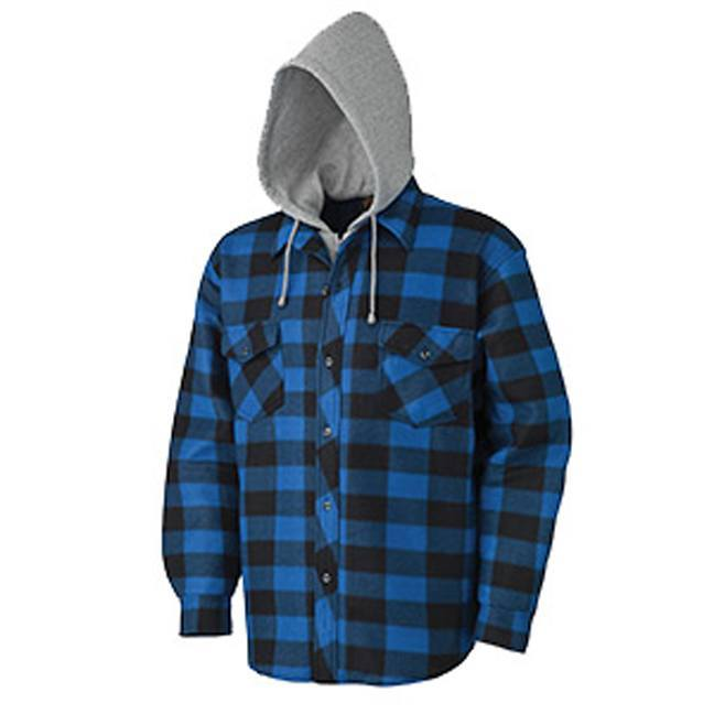 Pioneer 415SS Quilted Hooded Polar Fleece Shirt
