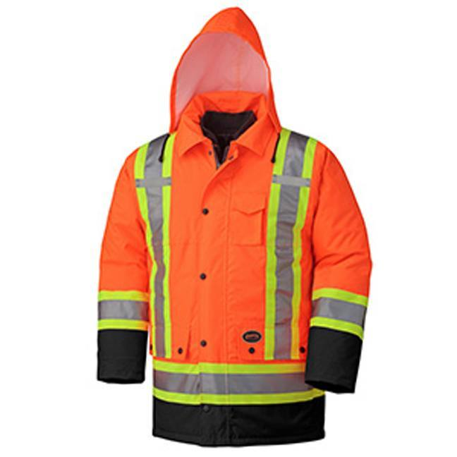Pioneer 5020BB Hi-Viz 100% Waterproof 6-in-1 Parka