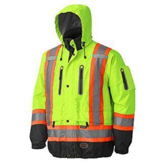 Pioneer 5201 Hi-Viz Waterproof Breathable Premium Jacket