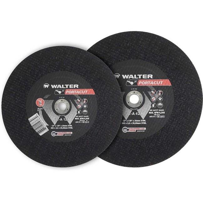 "Walter 11A123 12"" Portacut High Speed Cutting Wheel"