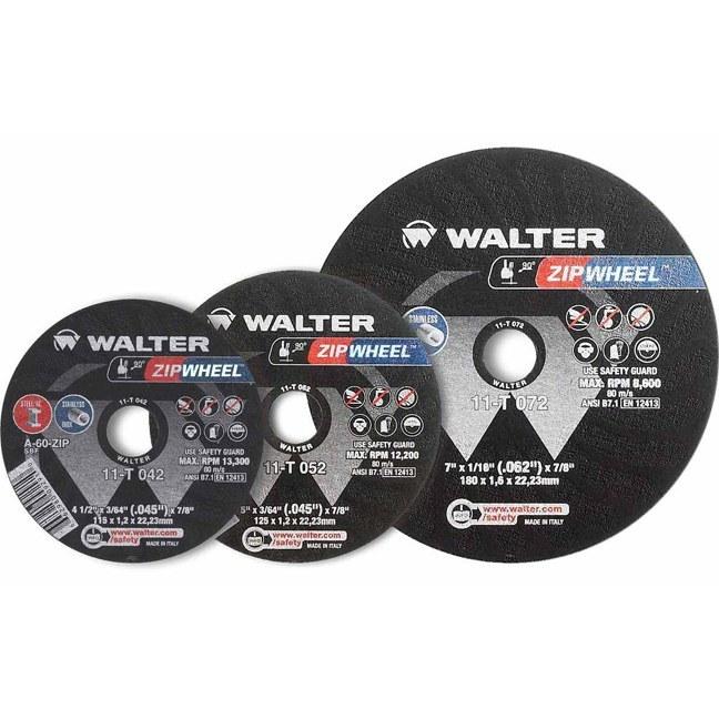 "Walter 11T062 6"" Zipwheel Thin Cut-Off Wheel"
